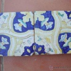 Antigüedades: PAREJA DE AZULEJOS (TRIANA). Lote 50207636
