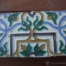 Antigüedades: AZULEJO TRIANA O TOLEDO SIGLO XVI APROX. Lote 50207917
