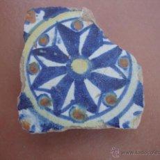 Antigüedades: AZULEJO TRIANA O TOLEDO SIGLO XVI APROX. Lote 50207987