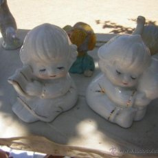 Antigüedades: PAREJA ANGELOTES MANISES. Lote 50208533