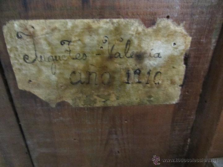 Antigüedades: Antiguo Carro de Arrastre para Animal Pequeño o Juguete de Niños - Año 1910 - Foto 8 - 47478822