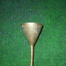 Antigüedades: COPA DE METAL 13X6CM. Lote 50230396
