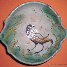 Antigüedades: PRECIOSA Y ANTIGUA CERÁMICA DE PUENTE DEL ARZOBISPO. Lote 50239219