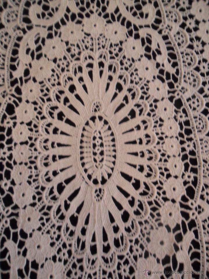 Antigüedades: Antiguo tapete de encaje - Foto 4 - 50249128