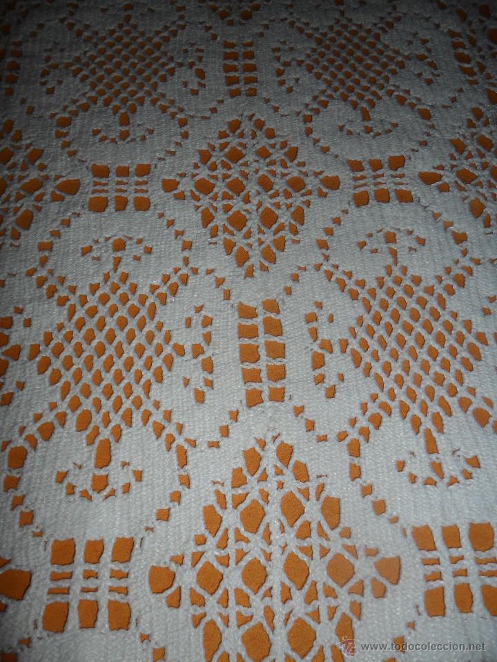 Antigüedades: Tapete antiguo tipo bolillos - Foto 5 - 50249997