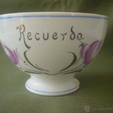 Antigüedades: CUENCO- TAZÓN - BOL. Lote 50250876