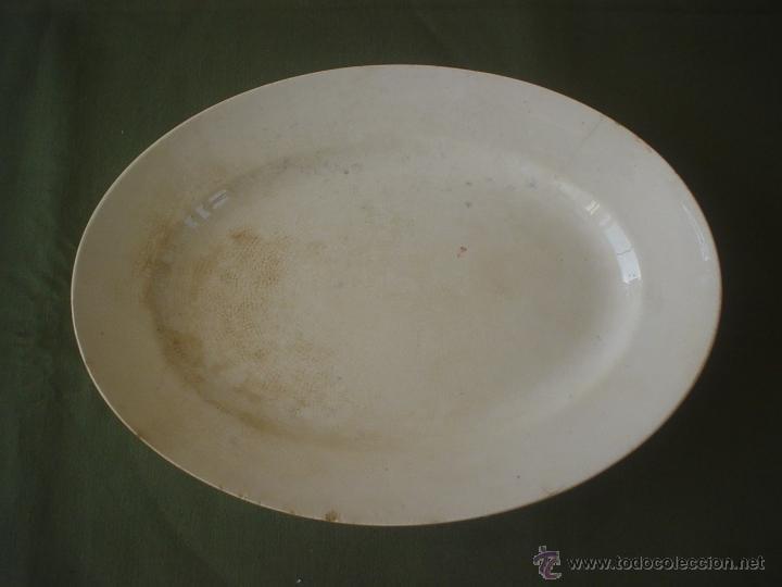 FUENTE OVALADA PICKMAN - CARTUJA - BANDEJA (Antigüedades - Porcelanas y Cerámicas - La Cartuja Pickman)