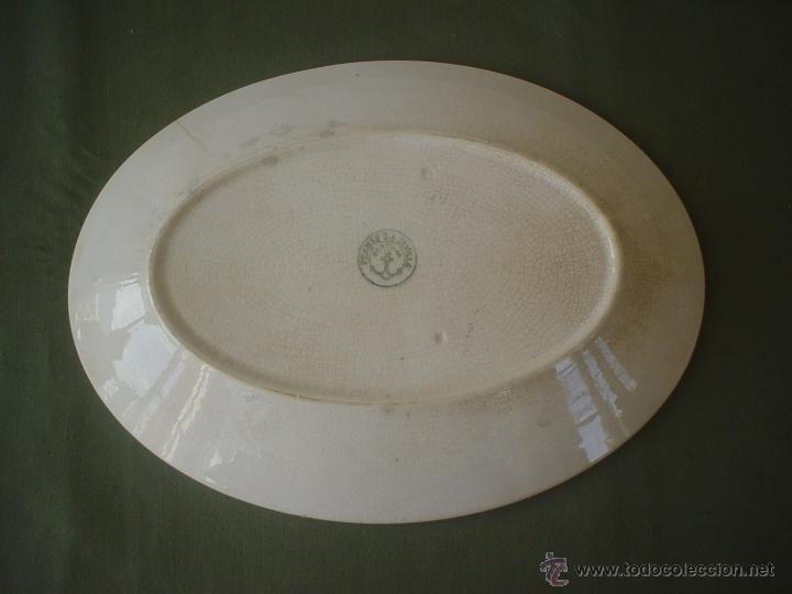 Antigüedades: FUENTE OVALADA PICKMAN - CARTUJA - BANDEJA - Foto 2 - 50251148