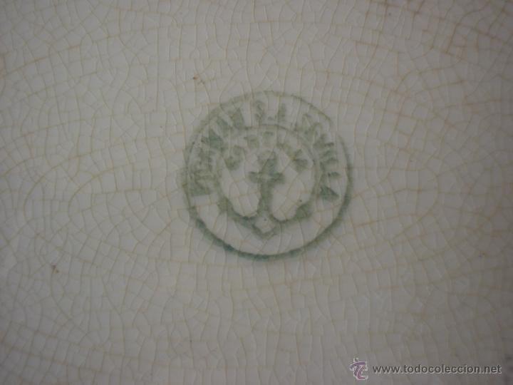 Antigüedades: FUENTE OVALADA PICKMAN - CARTUJA - BANDEJA - Foto 3 - 50251148