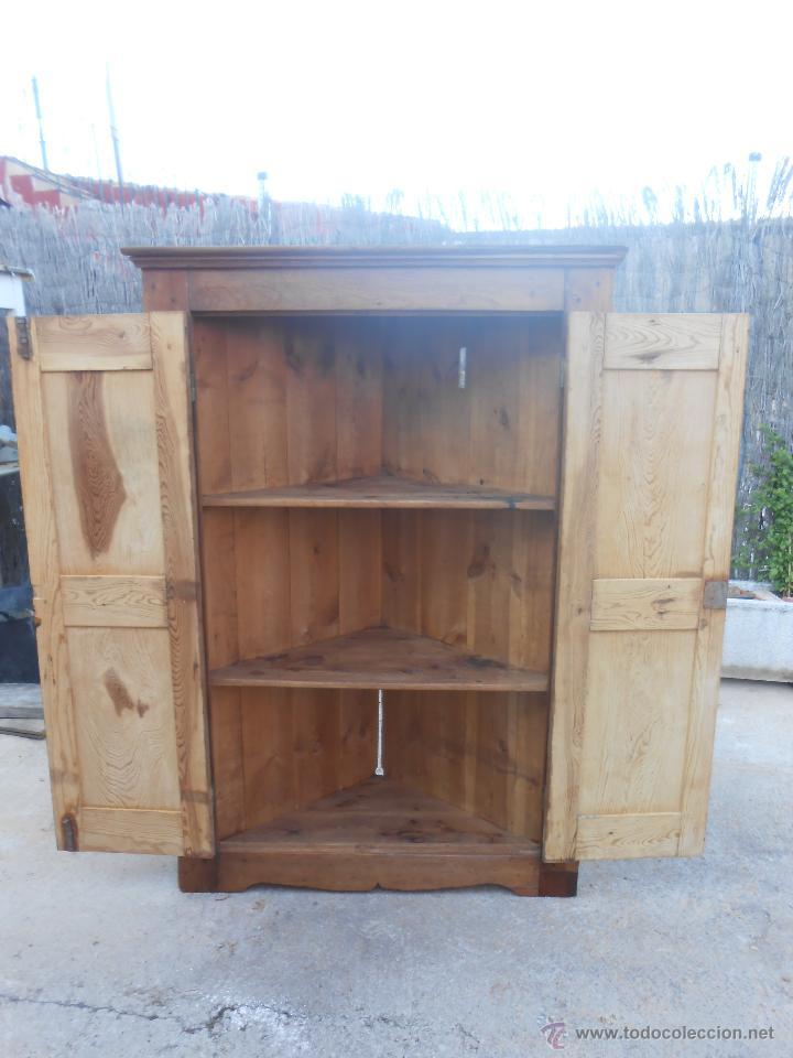 Armario Planejado Cozinha Grande ~ antiguo armario esquinero de pino restaurado Comprar
