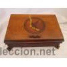 Antigüedades: CAJA DE GUARDAR TABACO. Lote 50267152