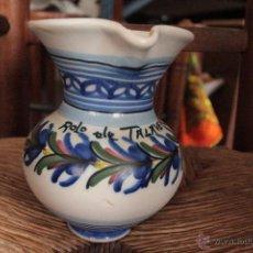Antigüedades: JARRA CERÁMICA DE TALAVERA, 16CM. Lote 50271905