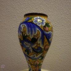 Antigüedades: PAREJA DE JARRONES. CERAMICA VALENCIANA.. Lote 50272354