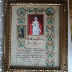 Antigüedades: DOCUMENTO INDULGENCIA PLENARIA, JUAN XXIII. Lote 50280195