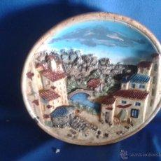 Antigüedades: PLATO DECORACION, FABRICACIÓN HOLANDESA. Lote 50284023