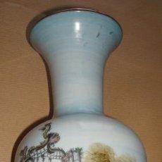 Antigüedades: FLORERO EN PORCELANA SANGO MADE IN ESPAIN. Lote 50296714