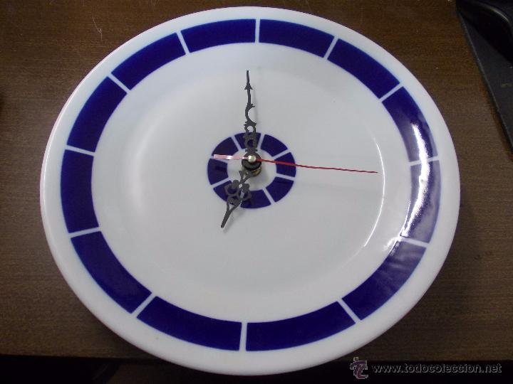 Mide Reloj Venta Vendido 17 CmDiametroLa Sargadelos Plato En Yv7bf6yIgm