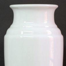Antigüedades: JARRÓN OPALINA BLANCA FINALES S XIX. Lote 50304448
