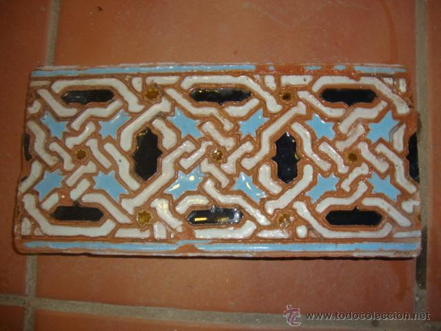 AZULEJO TRIANA SIGLO XIX (Antigüedades - Porcelanas y Cerámicas - Triana)