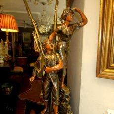 Antigüedades: ESPLENDIDA LAMPARA. Lote 50323921
