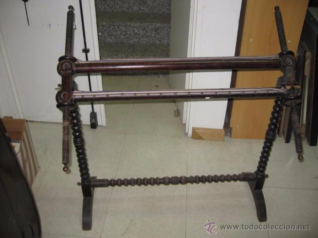 antiguo bastidor de pie grande madera para bord - Comprar ...