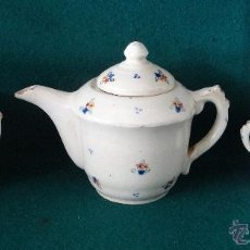 Antigüedades: JUEGO DE CAFE. CERAMICA MANISES . AÑOS 1920 -1930. Lote 50347451