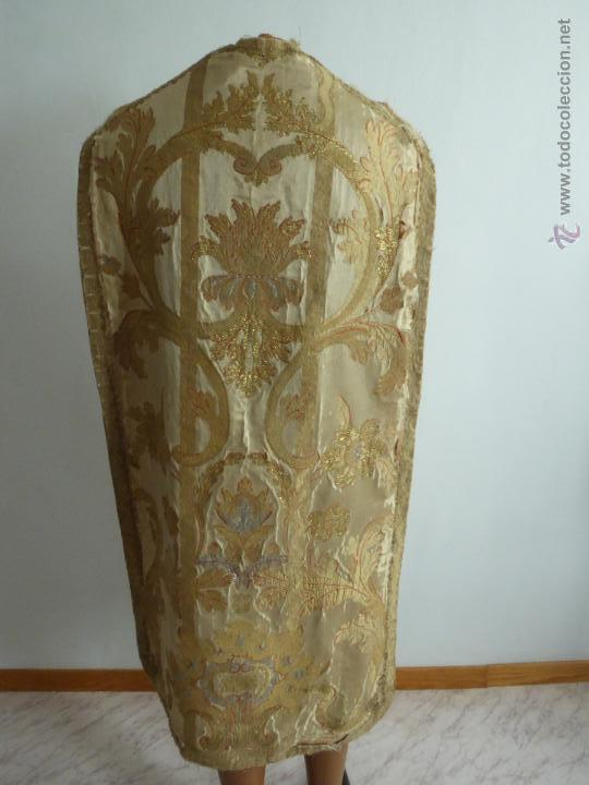 Antigüedades: CASULLAS Y VESTIMENTAS RELIGIOSAS ANTIGUAS - Foto 15 - 160200426