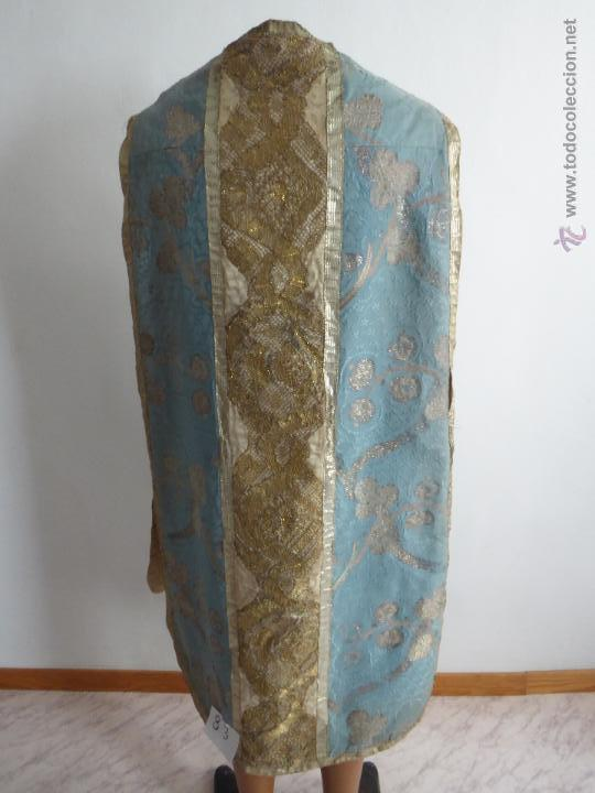 Antigüedades: CASULLAS Y VESTIMENTAS RELIGIOSAS ANTIGUAS - Foto 16 - 160200426