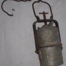 Antigüedades: ANTIGUO CARBURO MINA DE ALMADEN. Lote 50375198