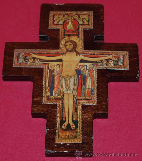 b045e9c5429 Cruz de san damian crucifijo de san damian cruz - Sold through ...