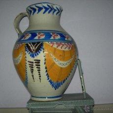 Antigüedades: S XVIII - XIX ENORME JARRA TALAVERANA. PIEZA UNICA EN TODOCOLECCION. Lote 50391867