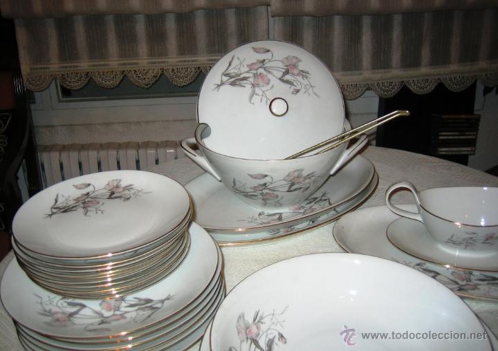 Vajilla porcelana 12 servicios bohemia comprar for Vajilla porcelana
