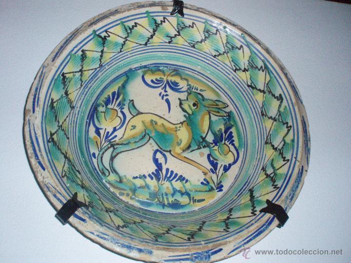LEBRILLO DE TRIANA DEL SIGLO XIX (Antigüedades - Porcelanas y Cerámicas - Triana)