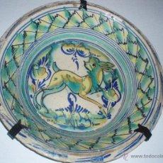 Antigüedades: LEBRILLO DE TRIANA DEL SIGLO XIX. Lote 50398142