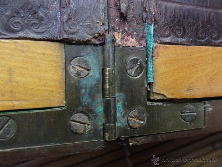 Antigüedades: CAJA ESCRITORIO INGLESA - Foto 7 - 38329130