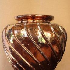 Antigüedades: TINAJA DE REFLEJO DORADO (TRIANA). Lote 50403333