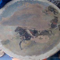 Antigüedades: PLATO PINTADO. Lote 50412474