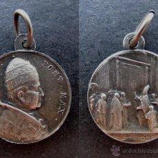 Antigüedades: MEDALLA RELIGIOSA ANTIGUA PAPA PIO XI AÑO JUBILAR 1925 PIUS. Lote 50416602