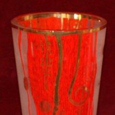 Antigüedades: PRECIOSO JARRON EN CRISTAL DE GOEBEL (ARTIS ORBIS) EDICION GUSTAV KLIMT. Lote 50419649