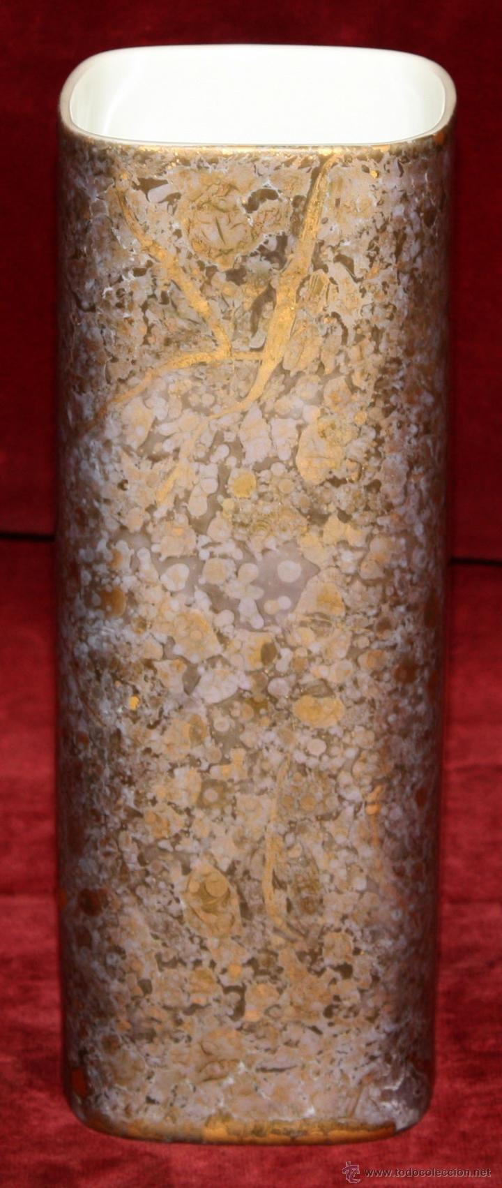 Antigüedades: PRECIOSO JARRON EN PORCELANA ALEMANA DE ROSSENTHAL. EXCELENTE ESTADO - Foto 2 - 50419717
