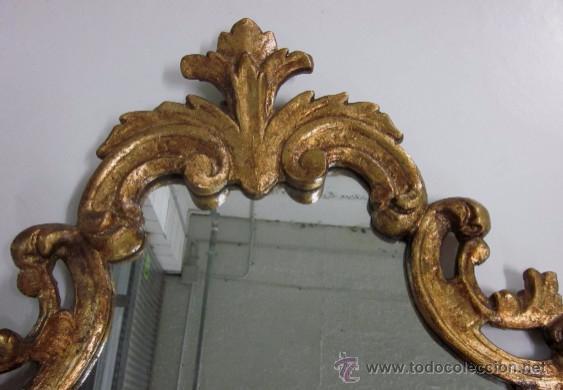 Antigüedades: ANTIGUO ESPEJO CORNUCOPIA - Foto 2 - 50424092
