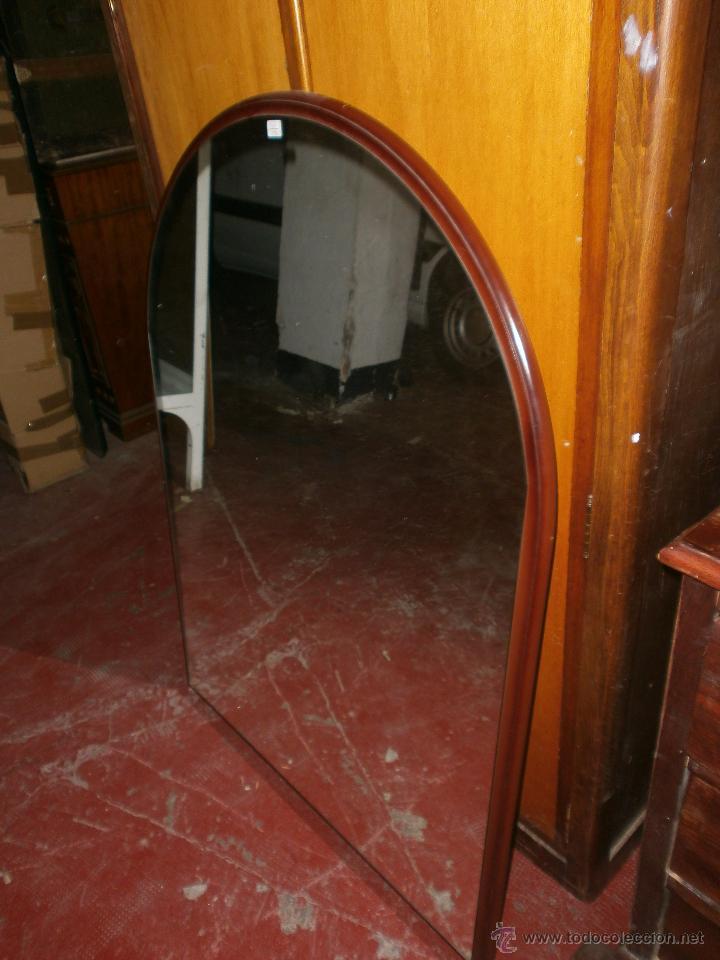 Espejo ovalado media luna grande medida 110 x 8 comprar for Espejo ovalado madera
