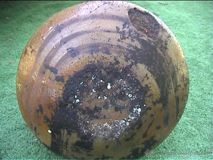 Antigüedades: OLLA DE BARRO PUCHERO DE FUEGO CERAMICA POPULAR 20CM - Foto 3 - 50427014