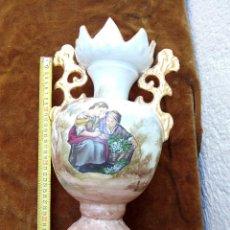Antigüedades: GRAN JARRON DE PORCELANA DECORADO. Lote 50433478