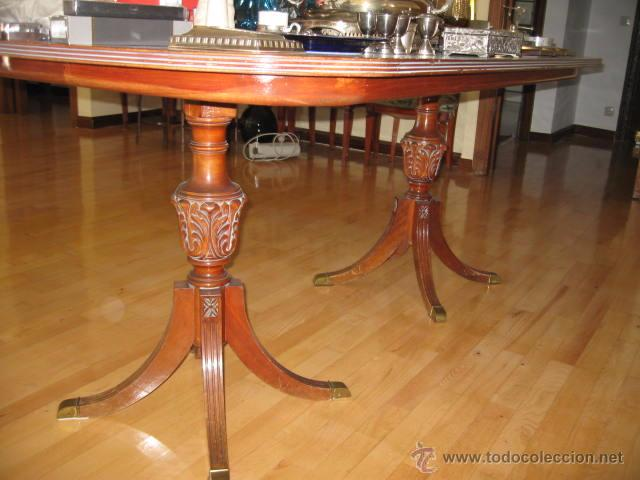 Gran mesa de comedor con 2 patas tablero 180 comprar for Baneras antiguas con patas baratas