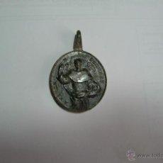 Antigüedades: MEDALLA DE SAN VICENTE FERRER ALADO Y SANTO DOMINGO. 4X2,7 CMS.. Lote 50446858