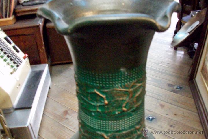 Antigüedades: ANTIGUO FLORERO DE CERAMICA - Foto 2 - 50465066