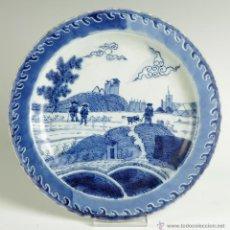 Antigüedades: PLATO PORCELANA CHINA SIGLO XVII-XVIII. Lote 50467506