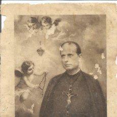 Antigüedades: ORACION DEL PADRE FRANCISCO DE P. TARIN VALENCIA 1910. Lote 50469326