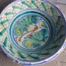 Antigüedades: ANTIGUO LEBRILLO DE TRIANA PINTADO A MANO. Lote 50485109